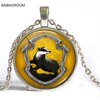 Hogwarts Crest Harry Pendant Necklace For Women - sparklingselections