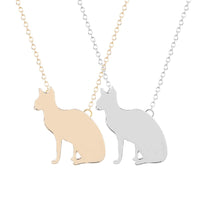 Cat Animal Pendant Necklace for women