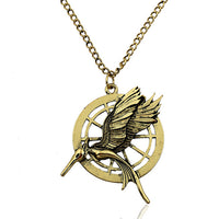 Vintage Retro Two Sides Bird Unisex Necklace