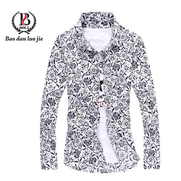 New cotton High Quality shirt for men size mlxl