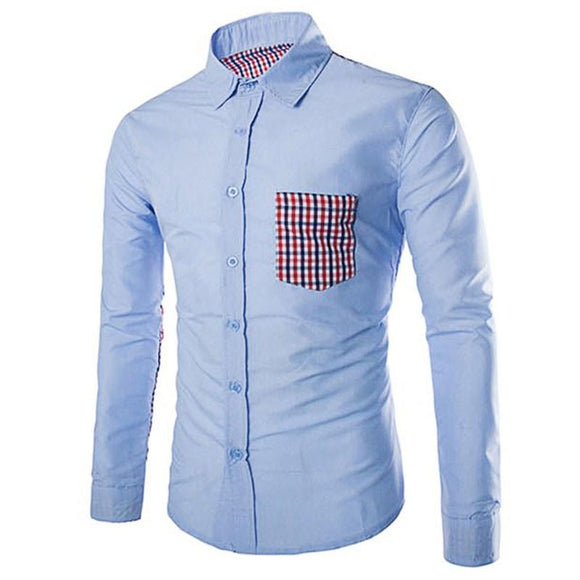 new Fashion Brand Stylish casual shirts for men size lxl