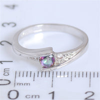 Multicolor Cubic Zirconia Fashion Jewelry Ring for Women