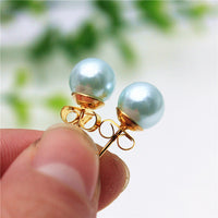 Simple Beads Stud Earrings for women