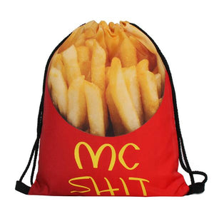 new fries 3D Printing Backpack for Travel