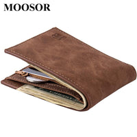 New Fashion Men's designer Canvas Thin Wallet - sparklingselections
