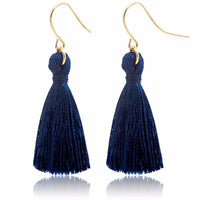 Long Boho Ethnic Tassel Drop Earrings Feminine Ethnic Rock Style Fashion Earrings Jewelry