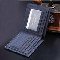 new men luxury brand PU Leather Wallet - sparklingselections