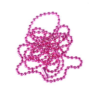 Rose Plated Ball Beads Chain Necklace for Women
