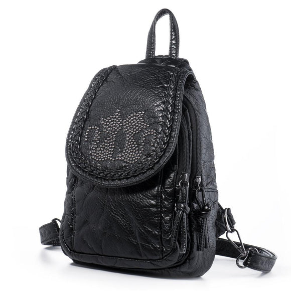 Women's  Convertible Tear Drop Small Backpack