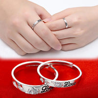 Silver Plated Dolphin Rhinestone Ring for Women (RING-0178)(Adjustable)