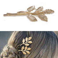 Gold Leaf Design Hairpin for girl