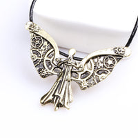 Tessa's Clockwork Angel Long Necklace for Women