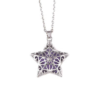 Five-Pointed Star Pendant Necklace for Women