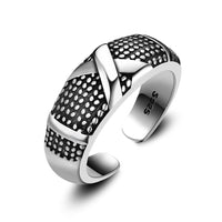 Minimalist Letter X Open Finger Ring for Men (Adjustable)