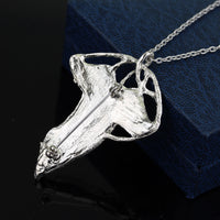 Lord Of The Elven Leaf  Alloy Pendant Necklace for Men