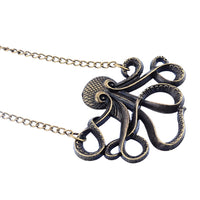Octopus Pattern Chain Necklace for Women