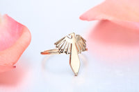 Eagle Bird Charm Rings For Women