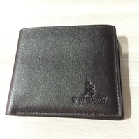 New Mens Leather Card Holder Pockets Wallet - sparklingselections