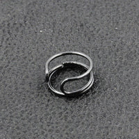 Exquisite Alloy Love Hollow Friendship Ring