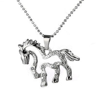 HORSE Shaped Pendant Necklace
