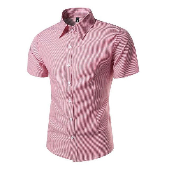 New Fashion Brand Short Sleeve Shirt for Men  size mlxl