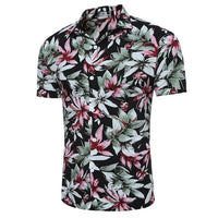 New Men's summer short sleeve shirts size mlxl