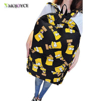 new Pretty Women Canvas Cartoon Printing backpack - sparklingselections