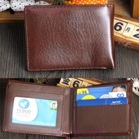 New Fashion Men Business Leather Wallet - sparklingselections