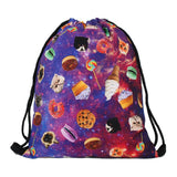 new stylish printing backpack  for outdoor