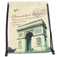 New Arrival Linen Drawstring Bags for Man Women