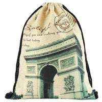 New Arrival Linen Drawstring Bags for Man Women - sparklingselections
