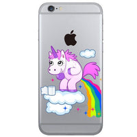 new Smile Rainbow Unicorn Phone Cover for iphone 7, 7s - sparklingselections