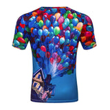 The balloon flight 3 d printing T-shirt size ml