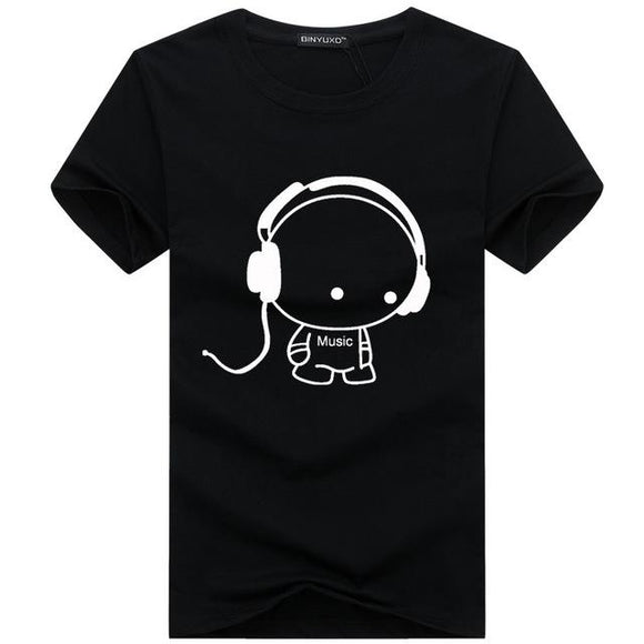 new fashion summer cotton T-shirt for men size sml