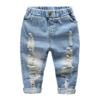 New Spring Autumn denim Casual jeans size 346t - sparklingselections