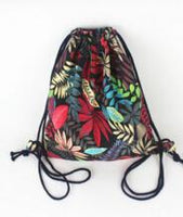 Summer Leaf Pattern String Shoulder Bags for Women - sparklingselections