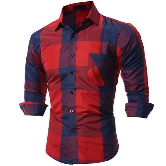 New Casual Fashion Long Sleeve Shirts size mlxl