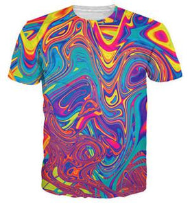 new fashion Brand clothing Men printed T-shirts  size sml