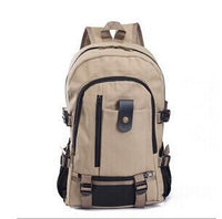 New Arrival Men's Canvas Backpack for travel - sparklingselections