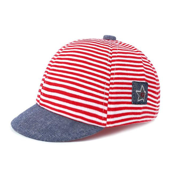 new Summer Striped Mesh Hat For boys