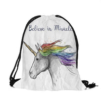 New Fashion Unicorn printed backpack for man - sparklingselections