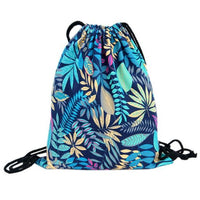 new Top Brand Flower Printed Canvas Traveling Backpack - sparklingselections