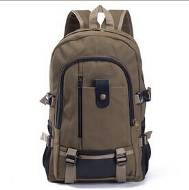 New Fashion Men's Canvas Backpack for Travel