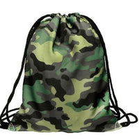 new Fashion Camouflage 3D Printing Backpack - sparklingselections
