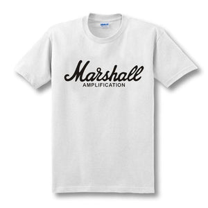 Summer Street wear Hip Hop Clothing The Marshall Printed T-Shirts  size sml
