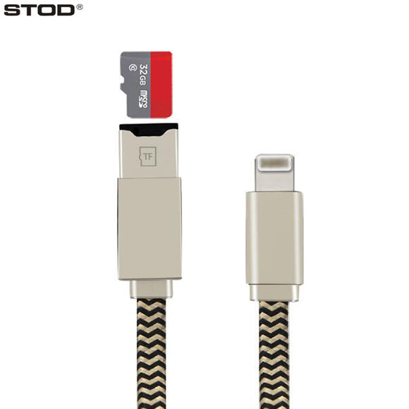 Two in One USB OTG Card Reader Cable For Smart Phones