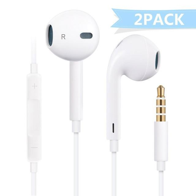 3.5 mm Wired Earphones with Mic for smart phone