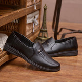 New Luxury Brand Leather Loafer Shoes size 7,8,10