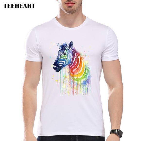 new Casual design printed T-shirts for men size sml