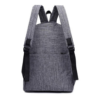 New College Canvas Backpacks For student - sparklingselections